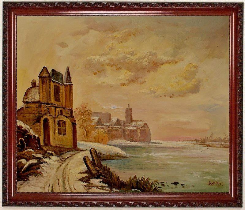 Landschaftsmalerei barock  Auftragsmalerei, Landschaftsbilder, Blumen bilder, Kunst Abstrakt ...